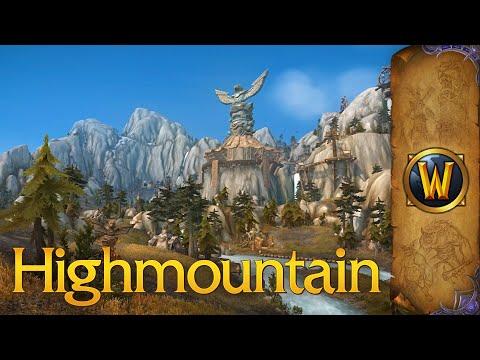World of Warcraft - Music & Ambience - Highmountain