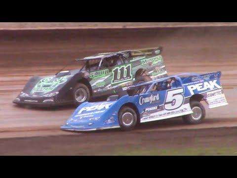 Lucas Oil Late Model Dirt Series Heat Three | Sharon Speedway | 7-2-18