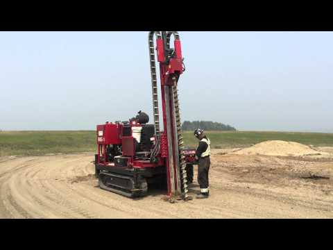 Environmental drilling in Alberta, investigating the damages left after a well no longer produces.