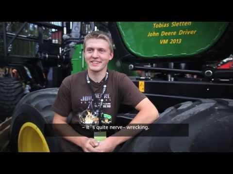 Verdensmester i lastbærerkjøring
