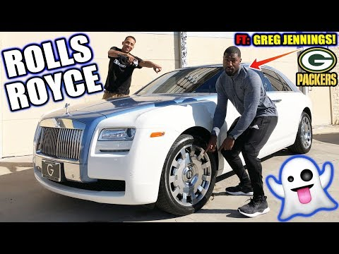 """Rolls Royce Ghost Review With Green Bay Packers Legend """"Greg Jennings!"""""""