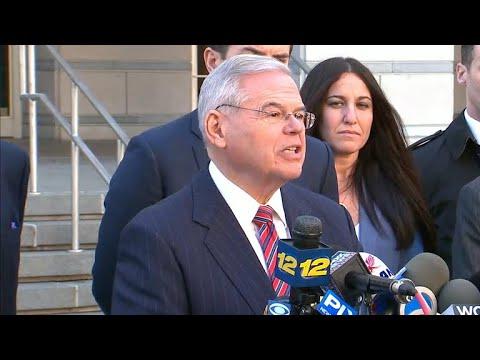 Judge delcares mistrial in Bob Menendez case