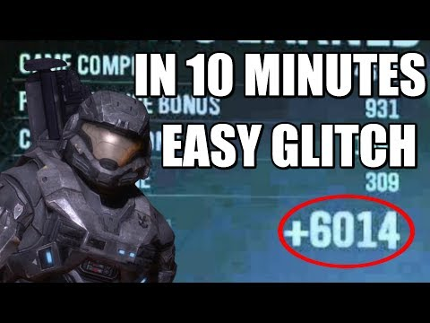 How To Get CR Fast In Halo Reach 2018