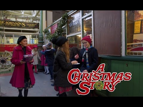 Manchester kids perform A Christmas Story: It All Comes Down To Christmas Cover