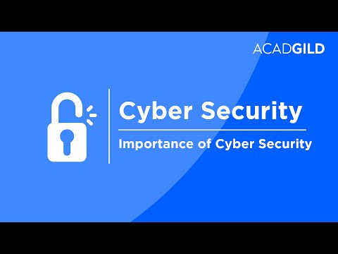Cyber Security Tutorial | Importance of Cyber Security | Cyber Security Training