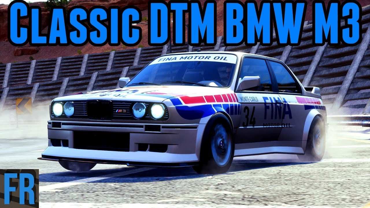 NFS Payback - Classic DTM BMW M3 - FailRace :: Let's Play Index