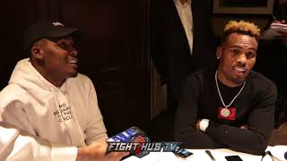 "JERMALL CHARLO ""GOLOVKIN IS AN ANIMAL, VANES LUCKY HE WENT 1 ROUND"""
