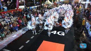 Parade nocturne et lumineuse du Lundi Gras en Guadeloupe