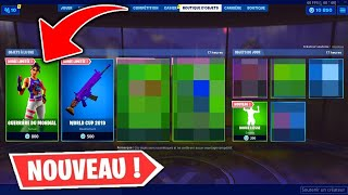 BOUTIQUE FORTNITE du 26 JUILLET 2019 ! ITEM SHOP JULY 26 2019 (SKIN WORLD CUP 2019)