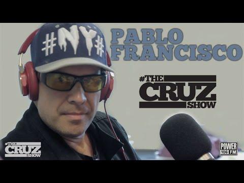Comedian Pablo Francisco Cracks Up The Cruz Show