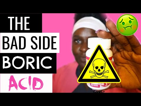 Boric Acid Suppositories Side Effects *MUST SEE BEFORE USING*
