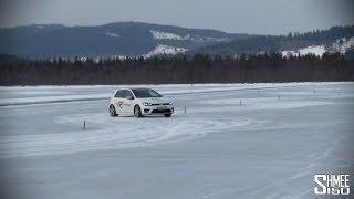 Swedish Adventure: Ice Slalom in the VW Golf R