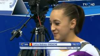 Larisa IORDACHE Gold Beam Highlights European Championships 2013