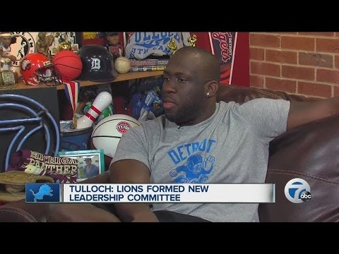 Stephen Tulloch says Lions have formed new leadership committee under Jim Caldwell