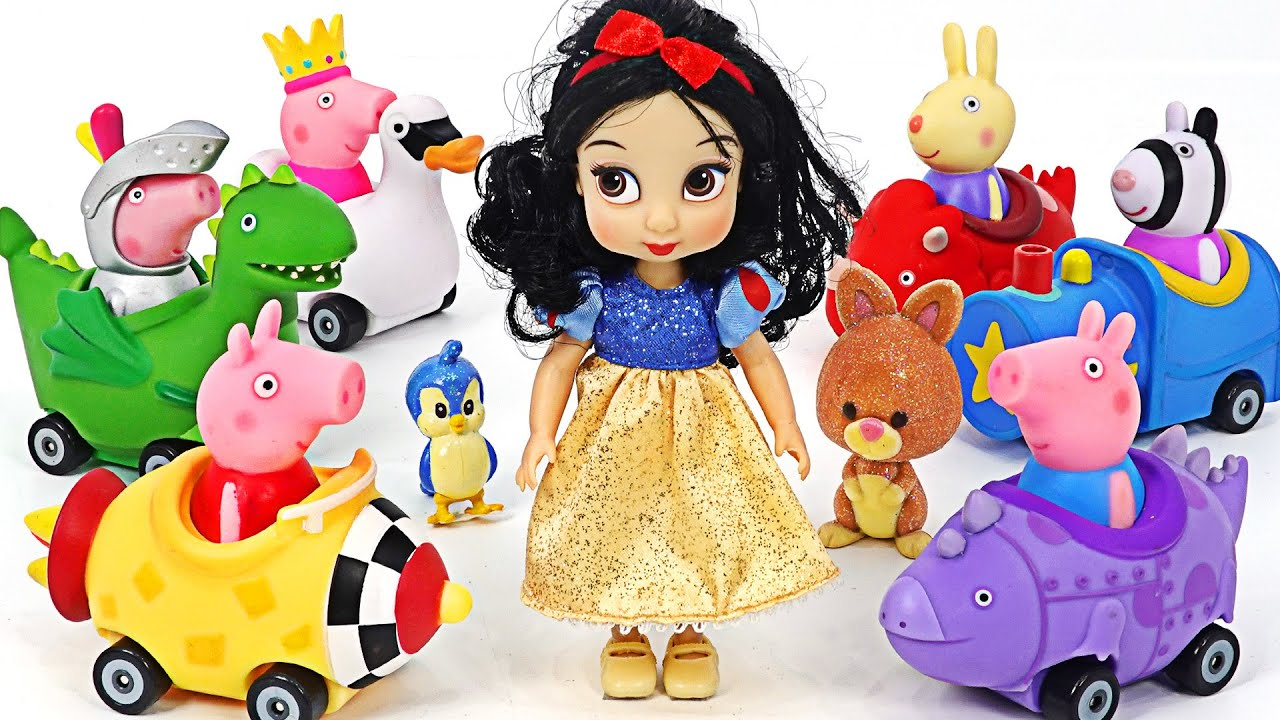プリンセスは危ない! ペッパピッグミニカーに乗って姫を救おう! | PinkyPopTOY