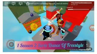 1 Season 2 Serie Dance Of Freestyle l Horrific Housing Roblox
