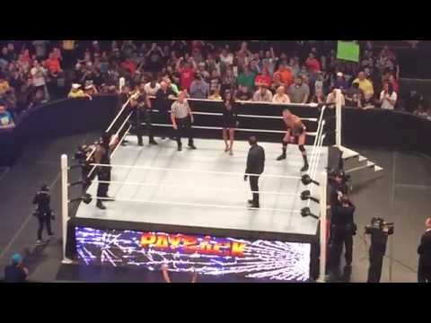 Live In Baltimore For WWE Payback 5/17/15