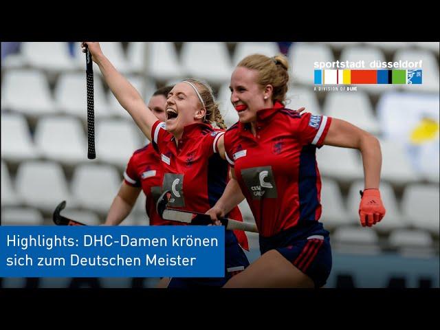 Video-Highlights: DHC-Damen gewinnen Deutsche Hockey-Meisterschaft