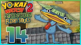 Yo-Kai Watch 2 Bony Spirits / Fleshy Souls - Episode 14 | Walkappa! (YoKai Watch 2 Gameplay)