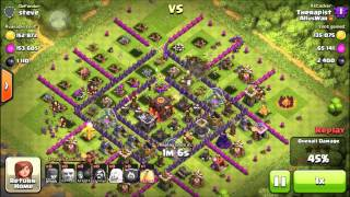 Clash of Clans: Barch 'n Giants FARRMING STRATEGY! #1 How to a hige amount of loot in a few hours!