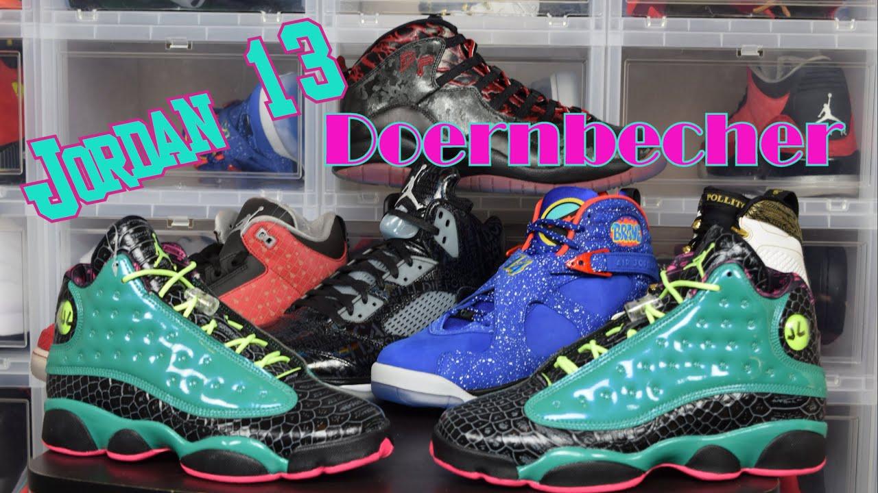 866abc7a87d Jordan Retro 13 Doernbecher   DB 13   Unboxing   Review  air trafficking  Sneaker Collection. Air Trafficking