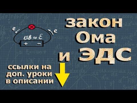 закон Ома для полной цепи и ЭДС физика