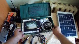Портативная солнечная электростанция | Своими руками | Освещение в походе