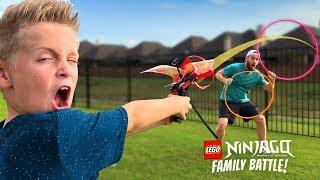 LEGO NINJAGO Flyers Test & Family Challenge!!! KIDCITY