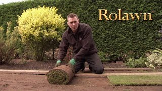 How to lay turf video