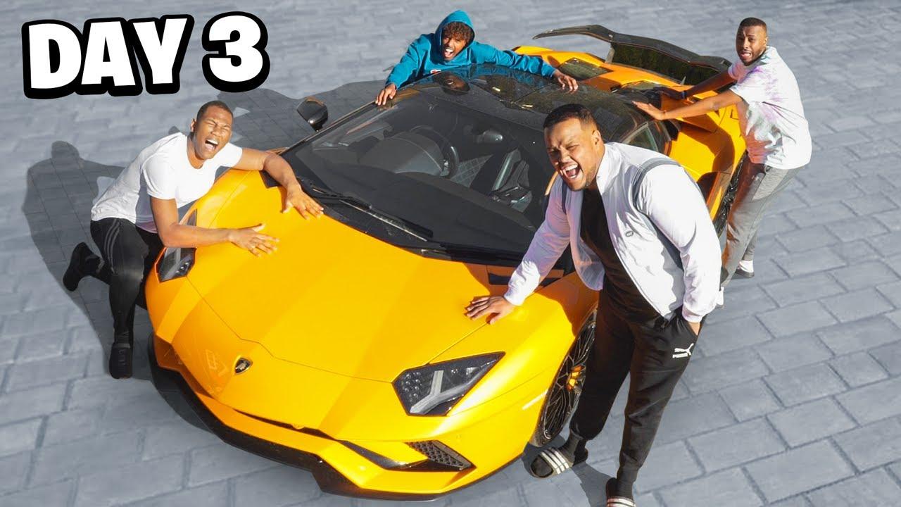 Last To Remove Hand, Wins Lamborghini ft Beta Squad