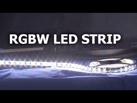 Rgbw led strip lights and 4ch dmx controller sirs e youtube rgbw led strip lights and 4ch dmx controller sirs e mozeypictures Gallery