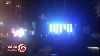 محمد حماقي يغني في حفل زفاف عمرو يوسف وكندة علوش
