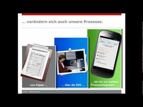 Mobile Order Entry App by PROLOGA [deutsche Version]