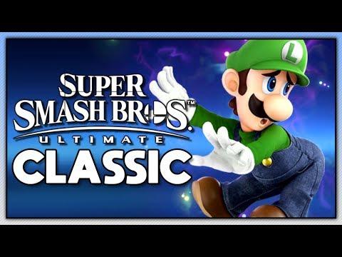 Super Smash Bros. Ultimate - Classic | Luigi thumbnail