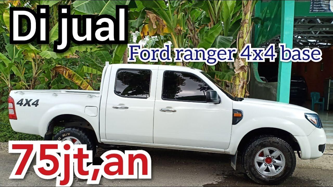 DI JUAL FORD RANGER 4X4 BASE TAHUN 2009 HARGA 75JT    MOBIL BEKAS KEBUMEN