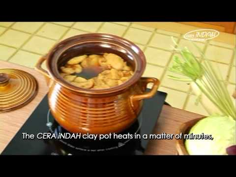 "Ceramic Cookware ""Natural Material from Mother Earth"""