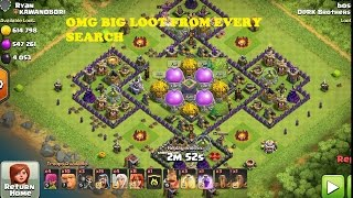 Clash of clans how to find dead base from every search, easy trick