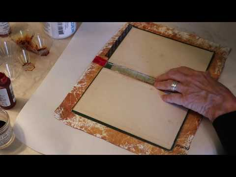 Hand Made Journal Book with Tyvek