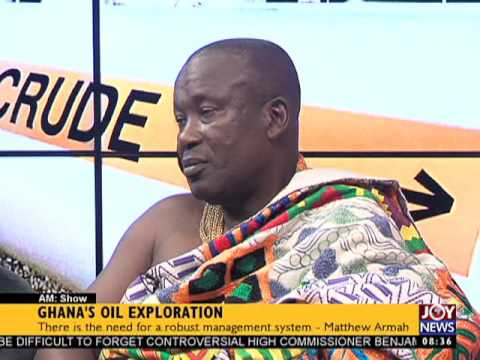 Ghana's Oil Exploration - AM Show on Joy News (21-6-17)