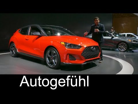 All new Hyundai Veloster REVIEW 2nd generation 2019 NAIAS 2018 Autogefhl