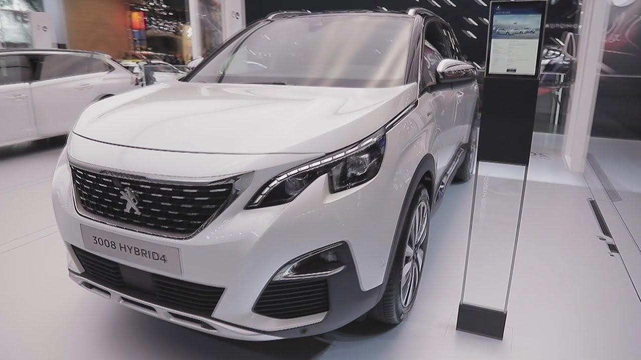 Peugeot 3008 Hybrid 4 (2019) Exterior Interior