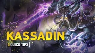 5 Quick Tips To Climb Ranked: Kassadin