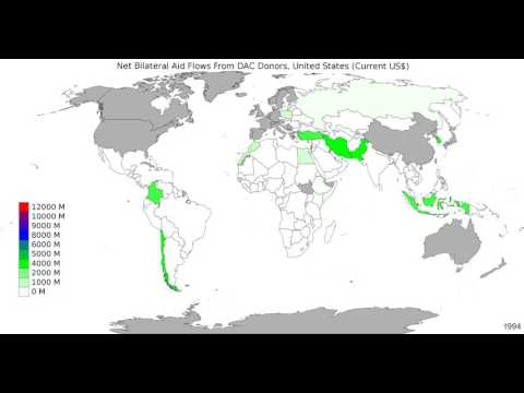 World - Net Bilateral Aid Flows From Dac Donors, United States - Time Lapse