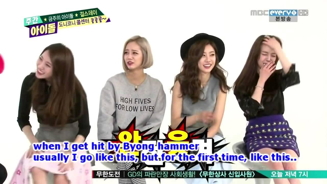 Weekly Idol Girls Day 140212 ENG SUB[Part 2]