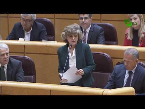 Pleno de control al gobierno en el Senado de España 7 Noviembre de 2017