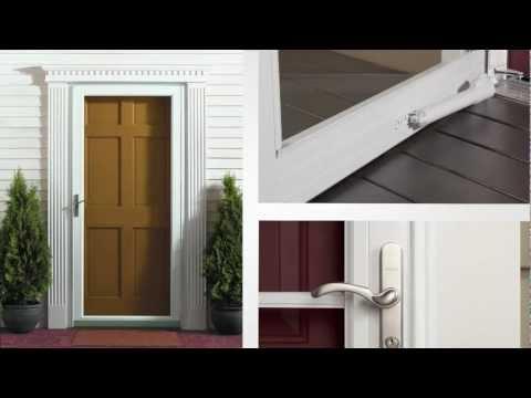 Andersen Storm Door: 45 Minute Easy Install System Product Overview