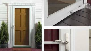 Andersen Storm Door: 45 Minute Easy Install System Product Overview