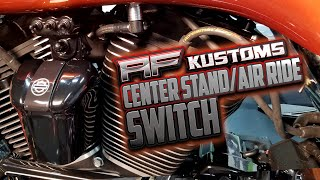 AF Kustoms Air Ride Center Stand Switch Install Harley
