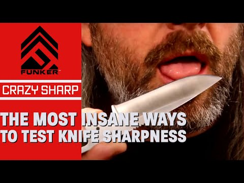 The Most Insane Ways To Test Knife Sharpness!