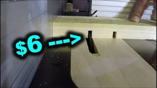Super Cheap Table Saw Blade - Testing a $6 Dado from Ebay